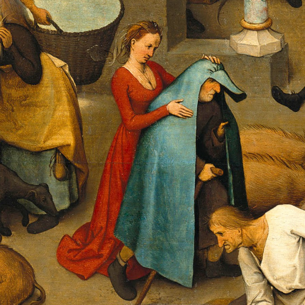 The Blue Cloak - Dutch Proverbs in 16th Century Art