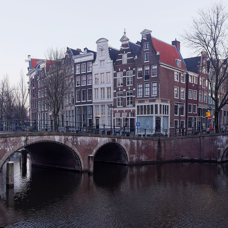What's under the water in an Amsterdam Canal?