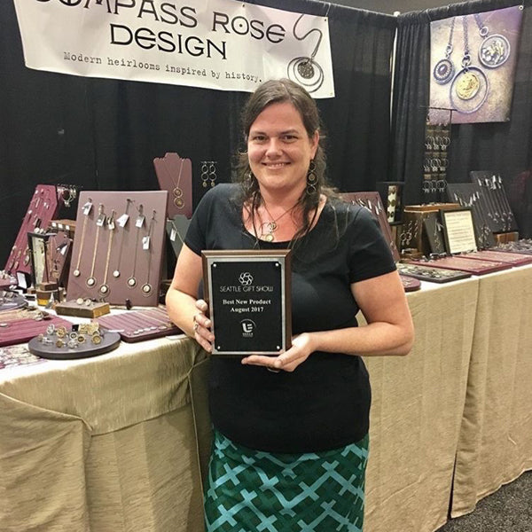 That time we won Best New Artist at the Seattle Gift Show