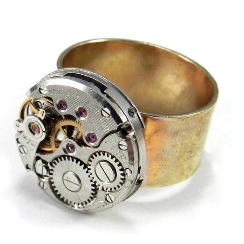Clockwork Rings - Brass / Gold