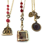 Victorian Keepsakes & Industrial Artifacts - Necklaces