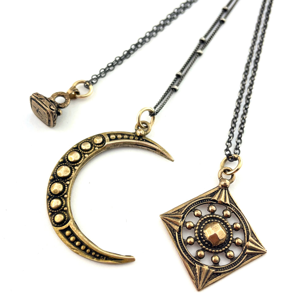 Compass Rose Design - Necklaces