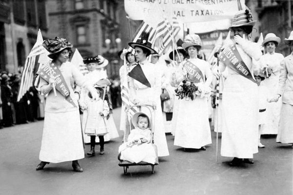suffragettes new york 1912