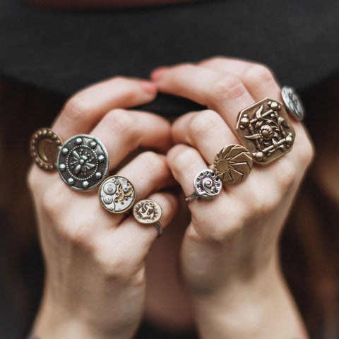 sterling silver and bronze jewelry care