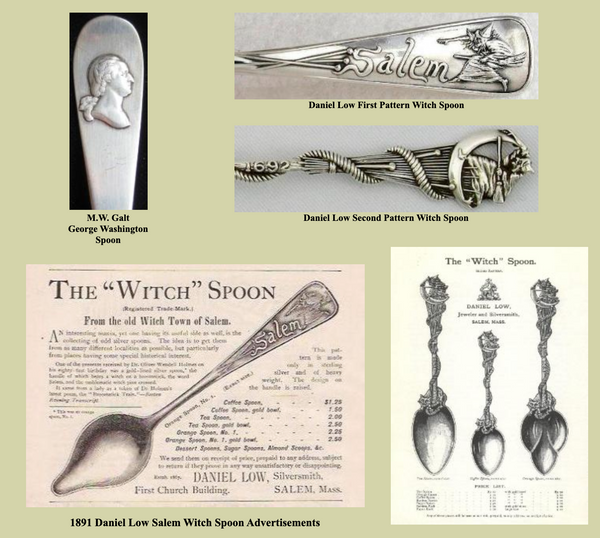 image of early souvenir spoons