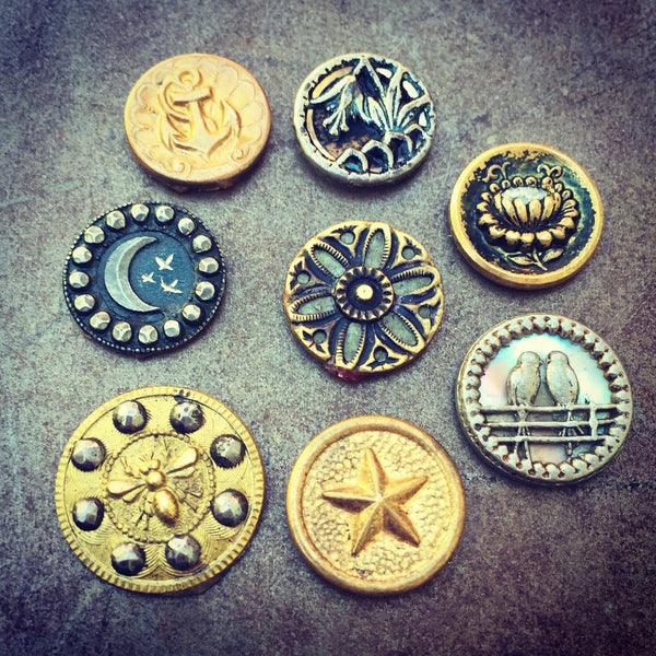 antique victorian buttons