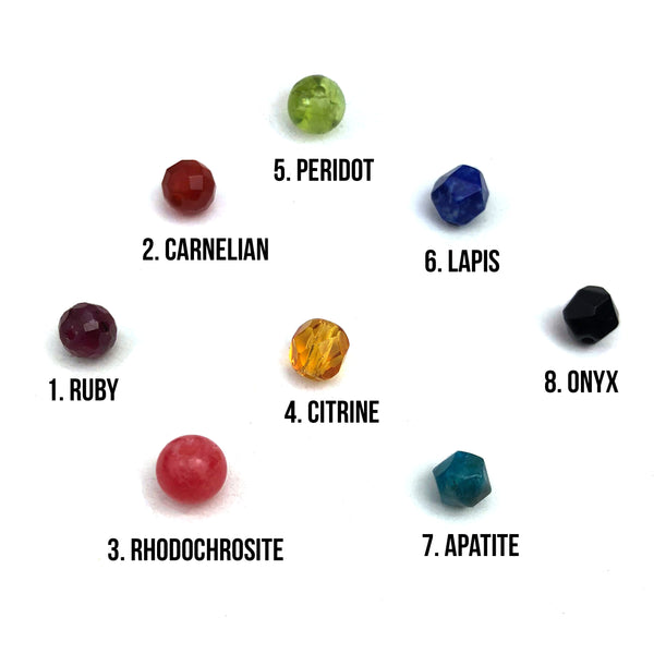 gemstone choices