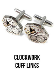 steampunk watch cuff links
