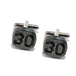 1930 Railroad Date Nail Cufflinks