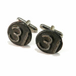 1931 Railroad Date Nail Cufflinks