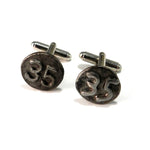 1935 Railroad Date Nail Cufflinks