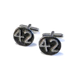 1942 Railroad Date Nail Cufflinks