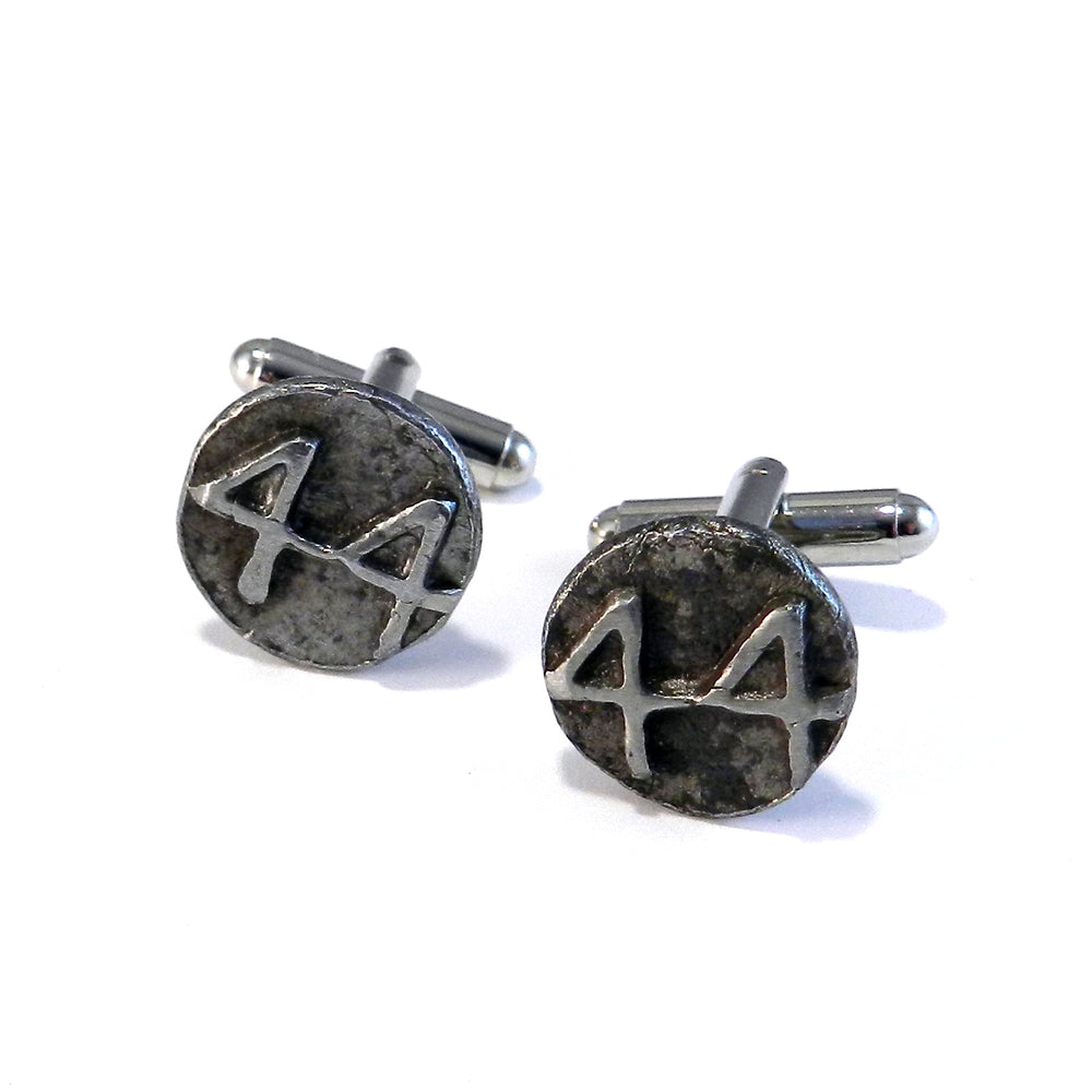 1944 Railroad Date Nail Cufflinks