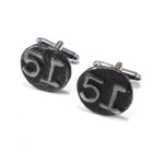 1951 Railroad Date Nail Cufflinks