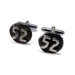 1952 Railroad Date Nail Cufflinks