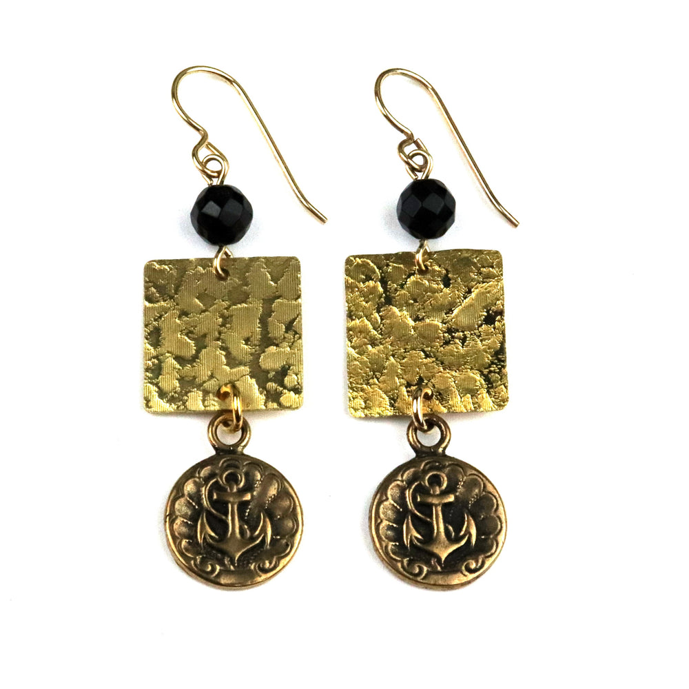 ANCHOR Balance Earrings - GOLD