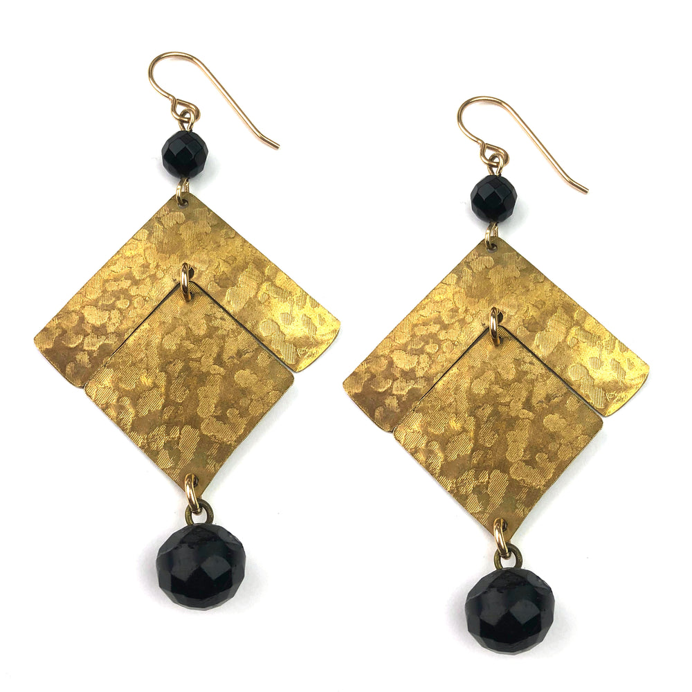 VICTORIA Geometric Earrings - GOLD
