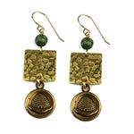BEEHIVE Balance Earrings - GOLD