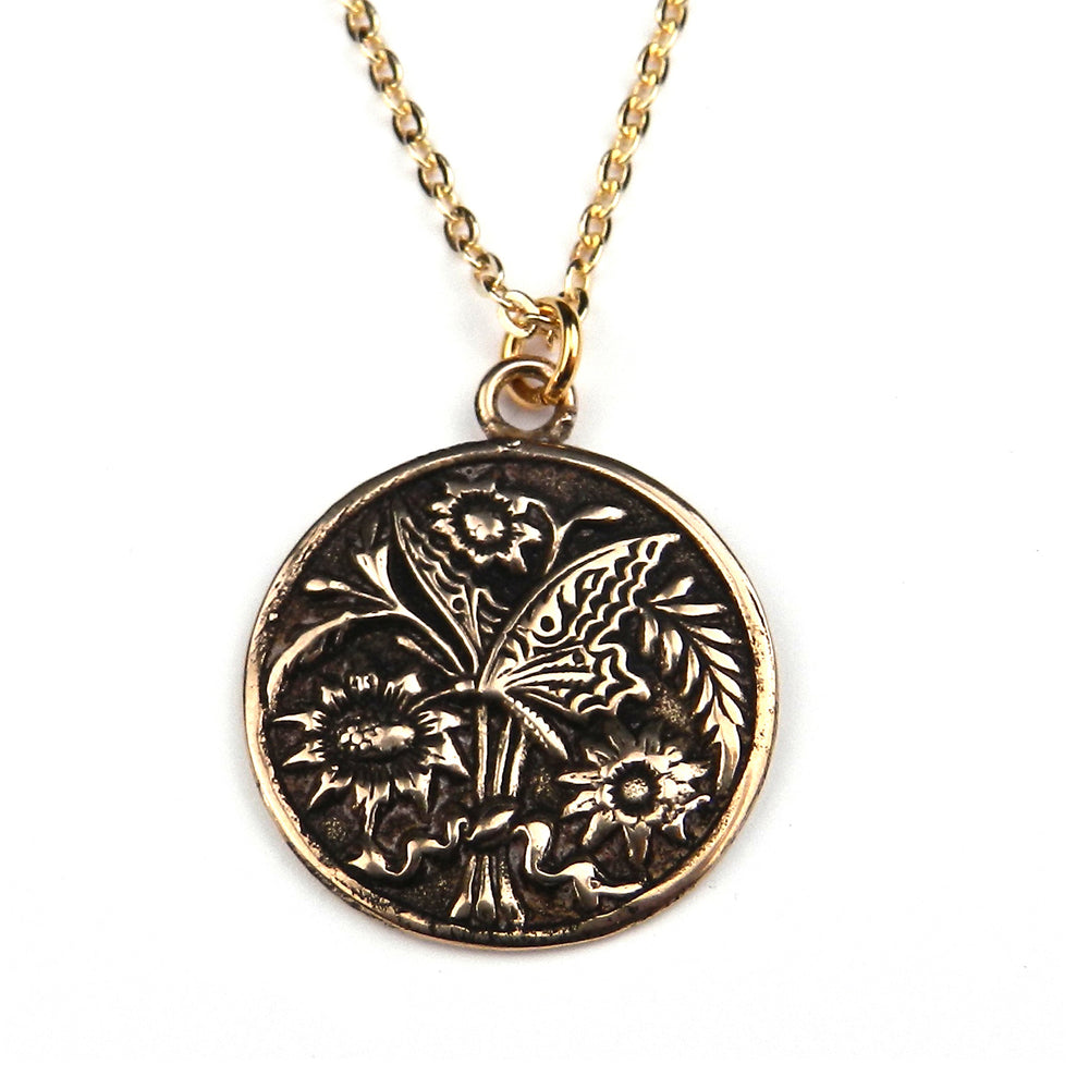 BUTTERFLY Classic Necklace - GOLD