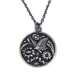 BUTTERFLY Classic Necklace - SILVER