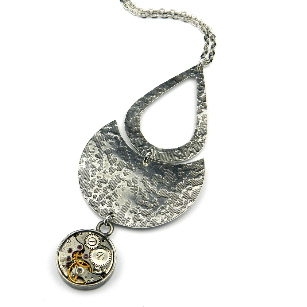 Clockwork ECLIPSE Necklace - SILVER