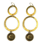 FOUR DIRECTIONS Duo Earrings - GOLD