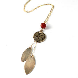 HORIZONS - Petal Necklace - GOLD