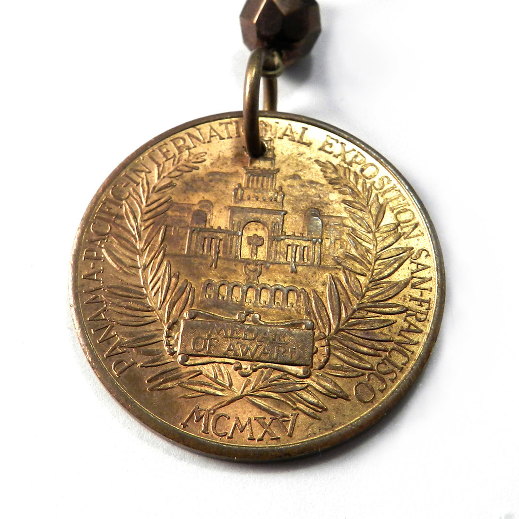 1915 Panama Pacific Exposition (PPIE) - Gold Medal Beer Award - San Francisco Worlds Fair