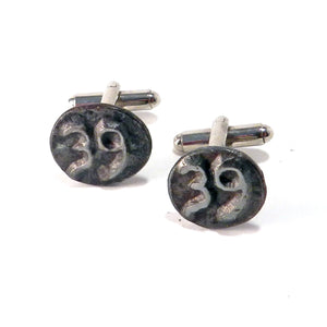 1939 Railroad Date Nail Cufflinks
