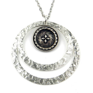 FOUR DIRECTIONS Echo Necklace - SILVER