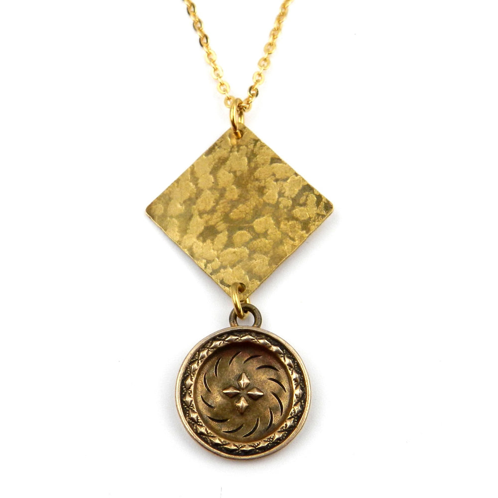 FOUR DIRECTIONS Focus Necklace - GOLD