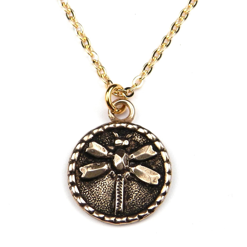 DRAGONFLY (SM) Classic Necklace - GOLD