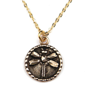 DRAGONFLY (MED) Classic Necklace - GOLD