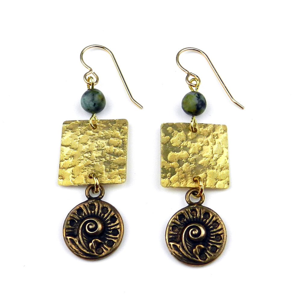 FERN Balance Earrings - GOLD