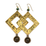 FERN Pinnacle Earrings - GOLD