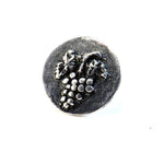 HARVEST GRAPE Antique Button Lapel or Hat Pin - SILVER or BRONZE