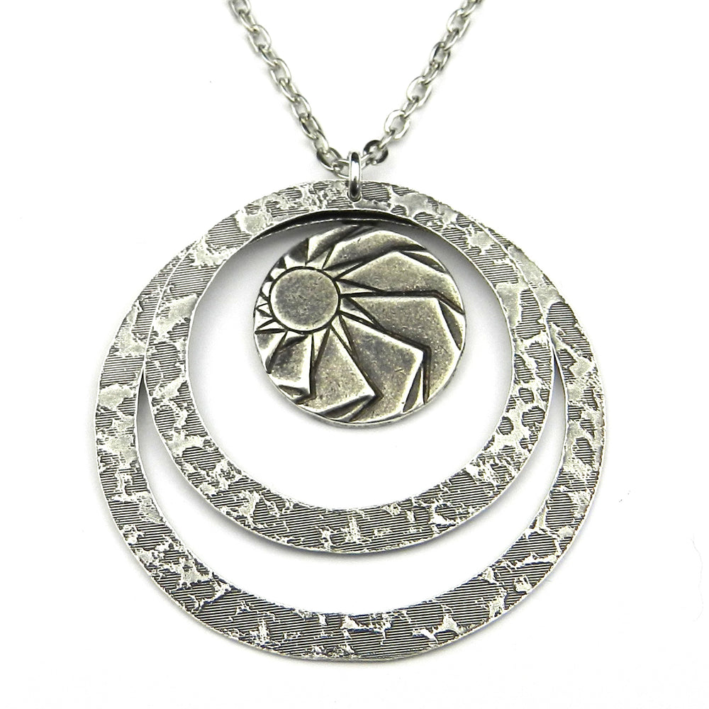HORIZONS Echo Necklace - SILVER