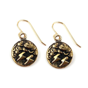 LIGHTNING Classic Earrings - GOLD