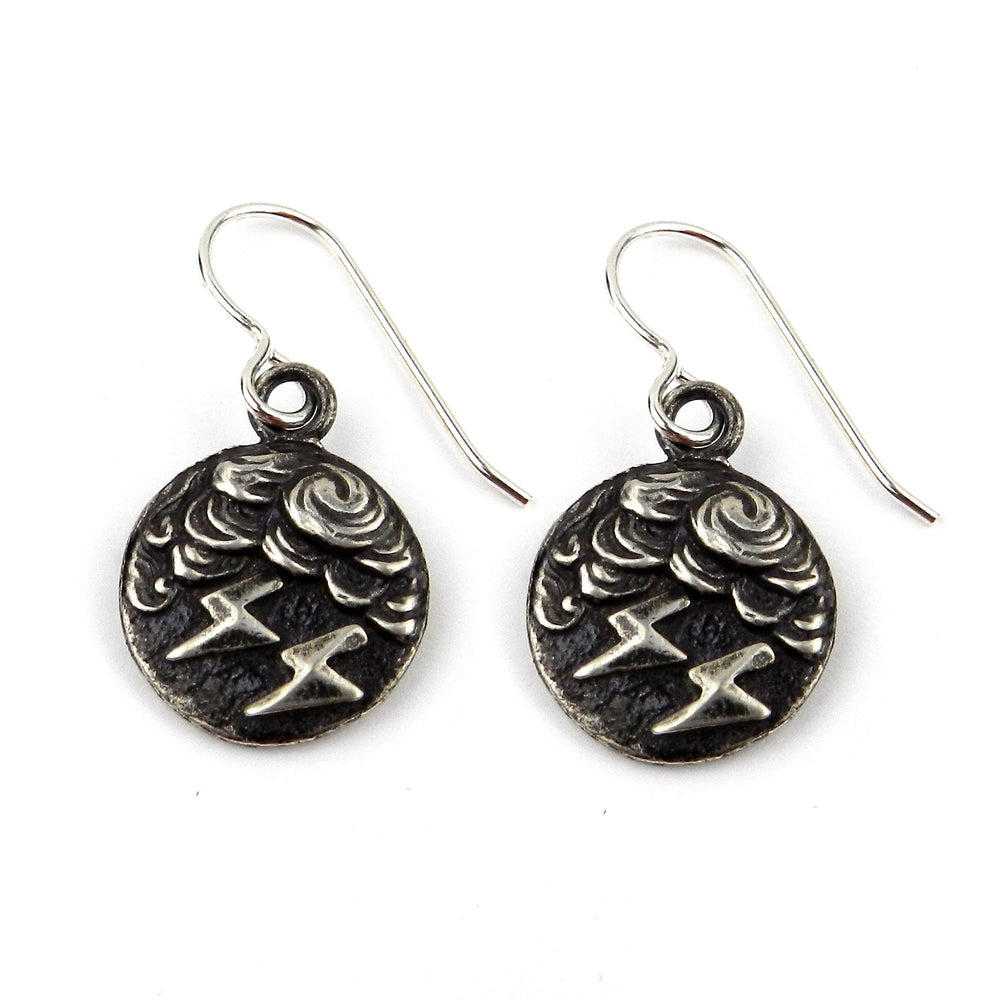 LIGHTNING Classic Earrings - Silver