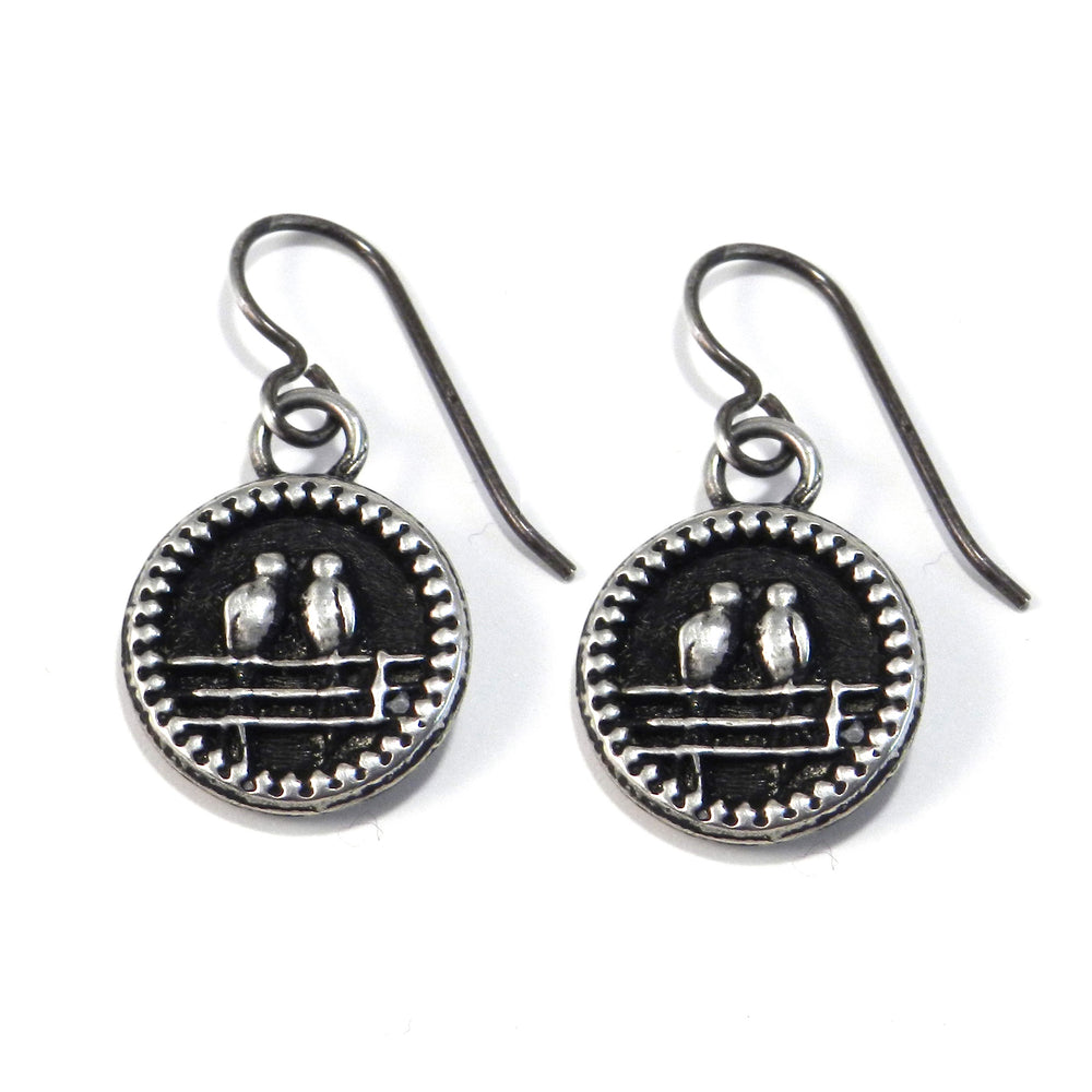 LOVEBIRDS Earrings - SILVER