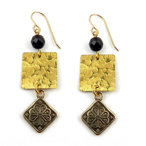MANDALA Balance Earrings - GOLD