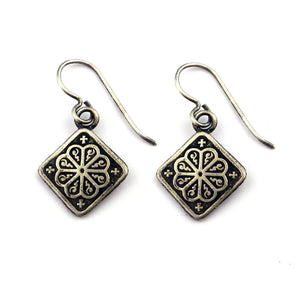 MANDALA Classic Earrings - Silver