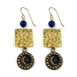 CRESCENT MOON Balance Earrings - GOLD