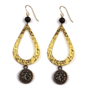 NECTAR Teardrop Earrings - GOLD