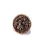 NECTAR Antique Button Lapel Pin/Hat Pin - SILVER or BRONZE
