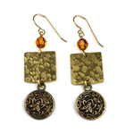 NECTAR Balance Earrings - GOLD