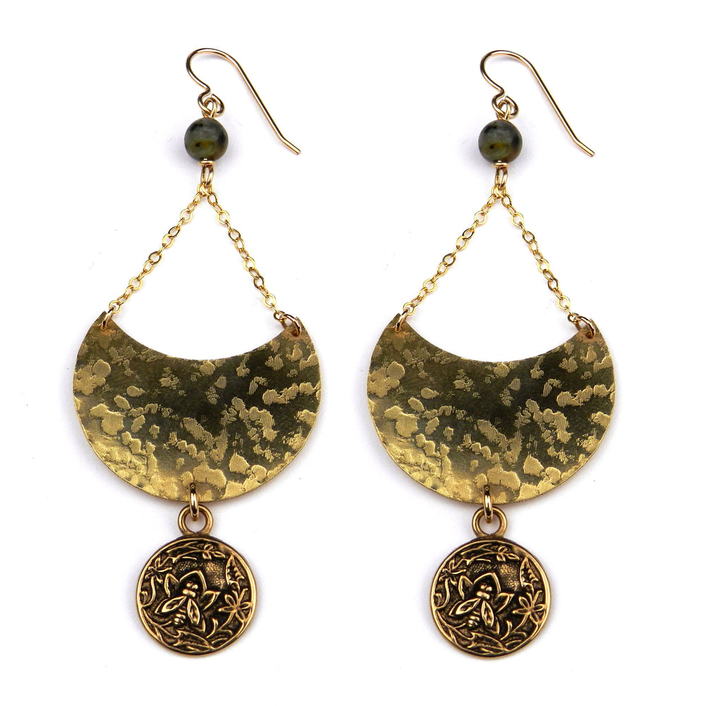 NECTAR Luna Earrings - GOLD