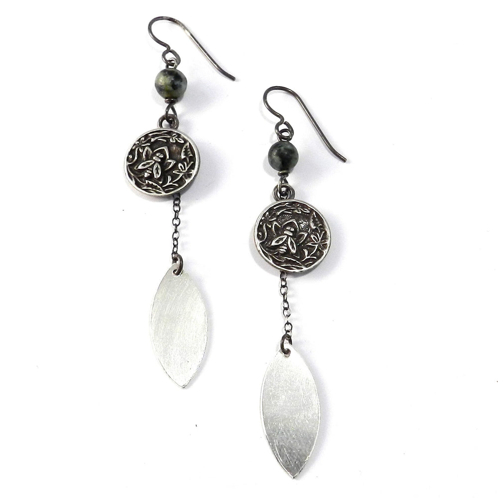NECTAR Petal Earrings - SILVER