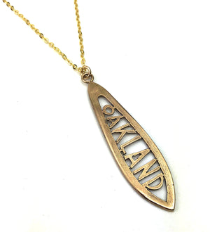 OAKLAND Teaspoon Necklace - GOLD