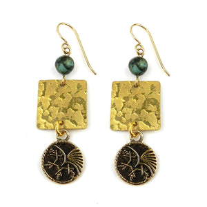 PHOENIX Balance Earrings - GOLD
